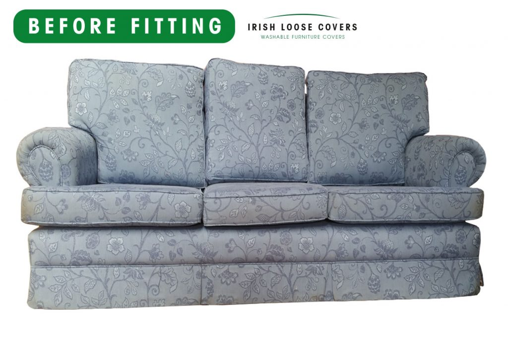 Sofa Loose Covers How To Cover A Chair Or Sofa With Loose
